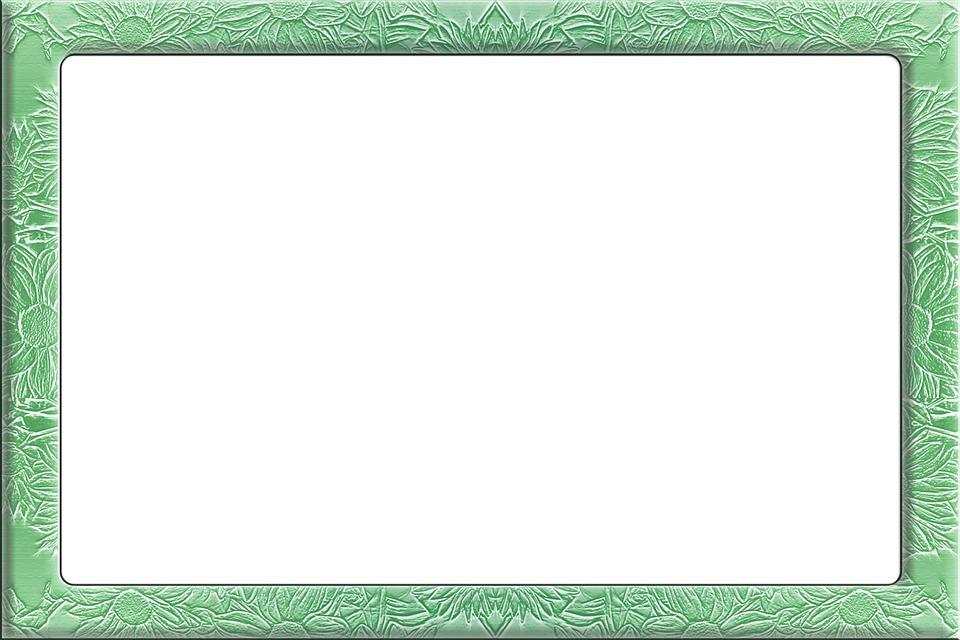 Rahmen Floral Grün · Kostenloses Bild auf Pixabay
