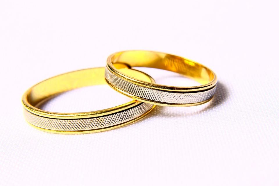 Alliances, Noces, Engagement, mariage, amour