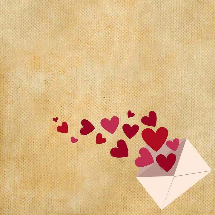 Birthday Message To Boyfriend: Hintergrund Brief Herz · Kostenloses Bild Auf Pixabay