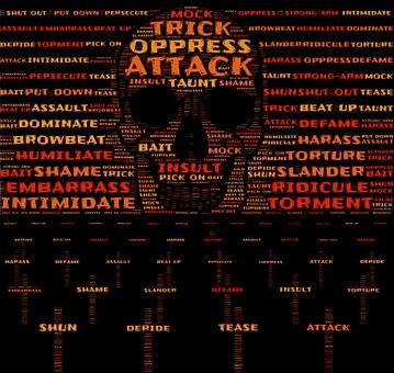 Aggression, Attack, Oppression, Bully