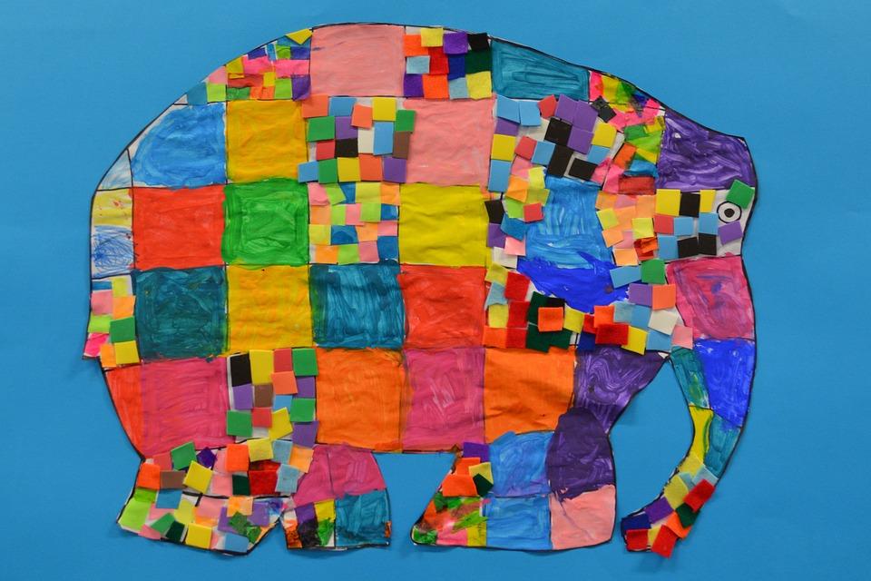 Elefant Basteln Kunst Und Kostenloses Foto Auf Pixabay