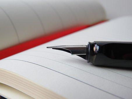 Filler, Calendar, Notebook, Write, Diary