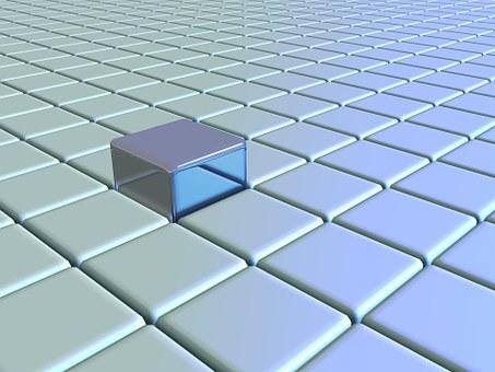 Grid, Block, Cube, Square, Design