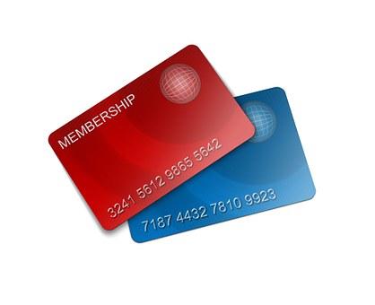 Membership, Card, Credit, Plastic