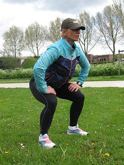 Outdoor Squat Fitness Squat Squat Squat Sq