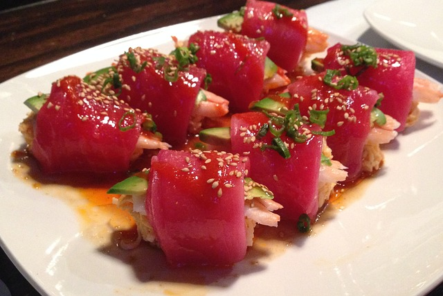 Free photo sushi tuna fish seafood free image on for Where to buy fish for sushi