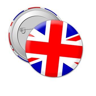 Badge, Brexit, Metal, Pin, Lapel, Design