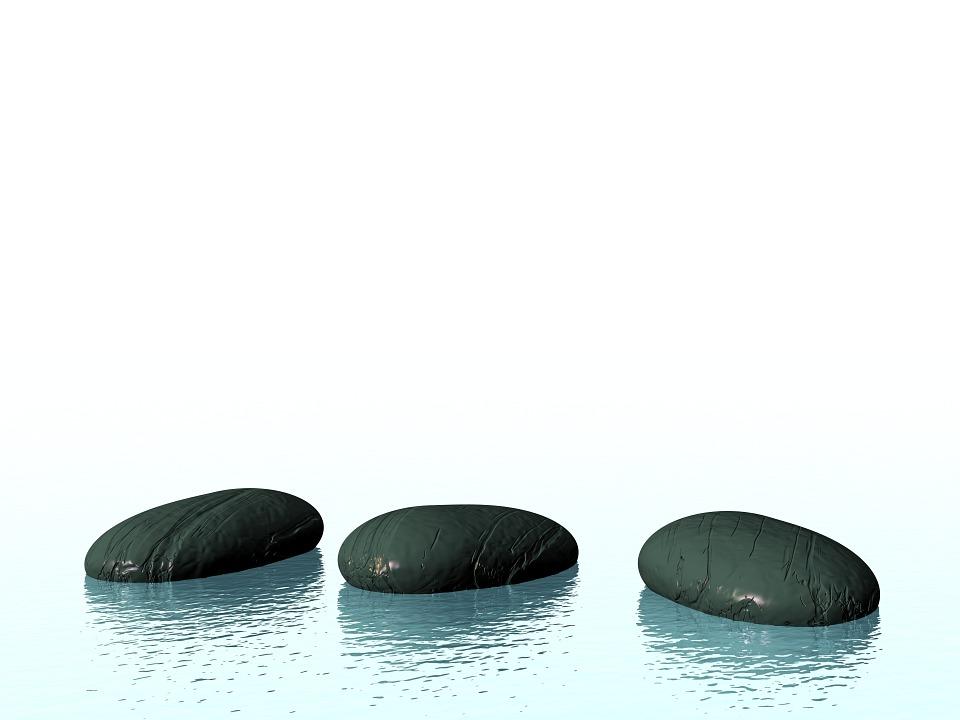 zen piedras la paz tranquilo metfora piedra - Piedras Zen