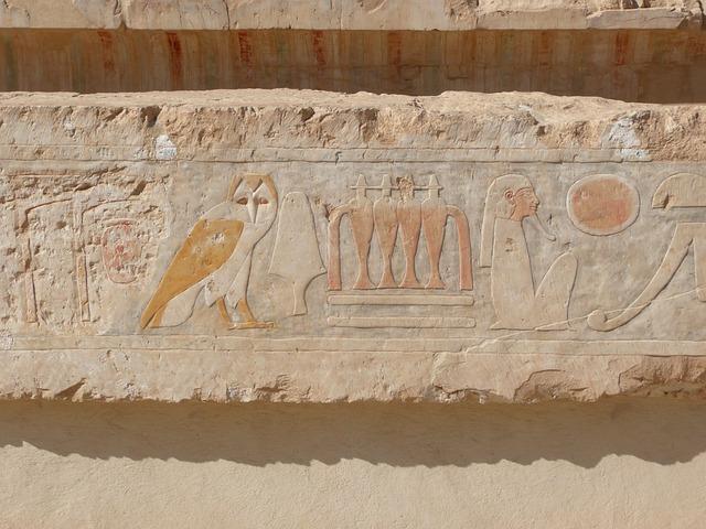 free photo  hieroglyphics  egypt  relief
