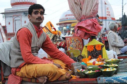 Man, People, India, Pandit, Ganesh