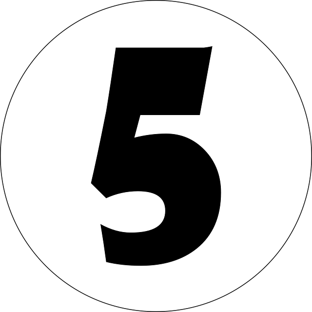 Five 5 Number · Free Vector Graphic On Pixabay