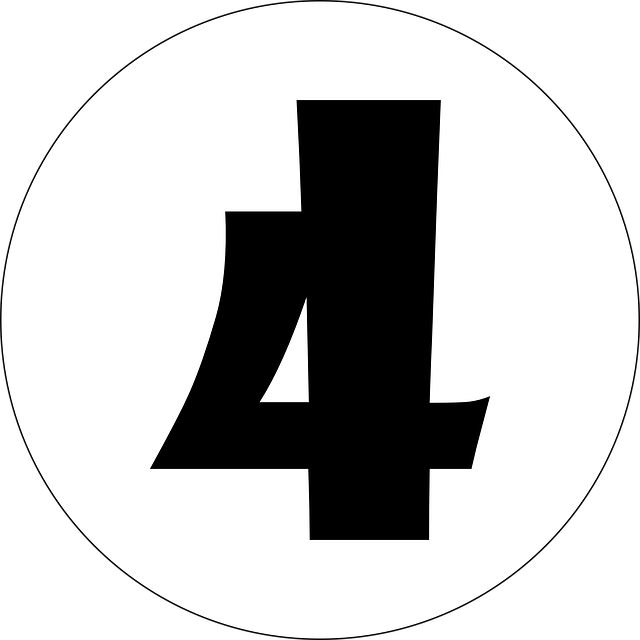 Free Vector Graphic: Four, 4, Number, Numeral