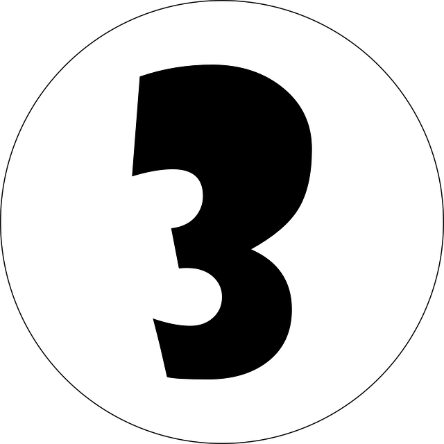 Free Vector Graphic: Three, 3, Number, Numeral