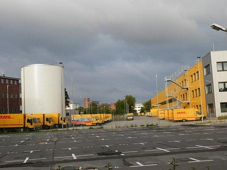 Alemania, Berlín, Siemensstadt, Dhl