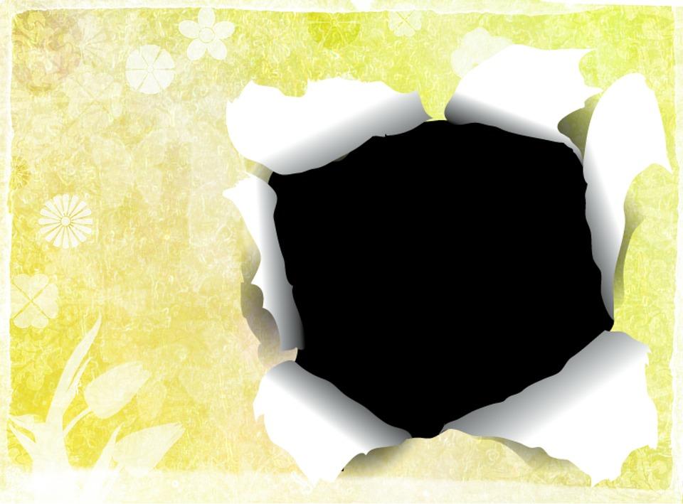 Spring Background Hole · Free image on Pixabay