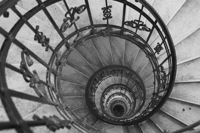 Free Photo Stairs Circle Staircase Spiral Free Image