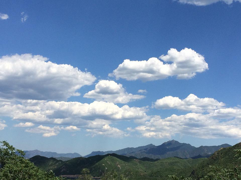 mountains sky light clouds - photo #20