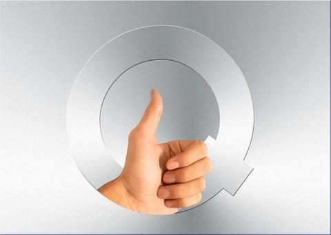 資格, 手, 親指, 高, 素晴らしい, たいへん良い, 品質, 才能, 資産