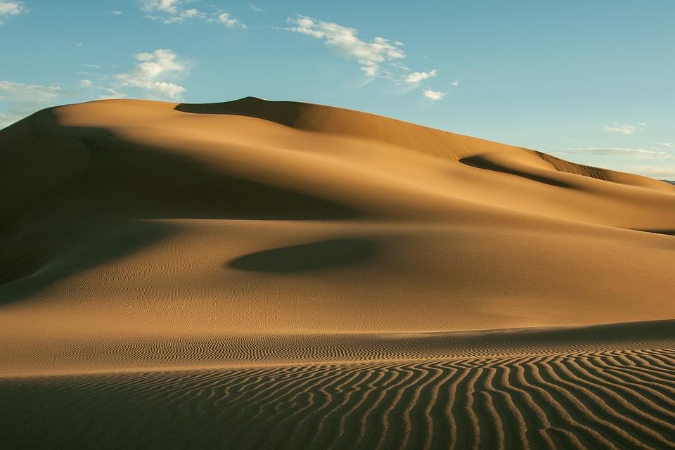 gobi desert dunes free photo on pixabay