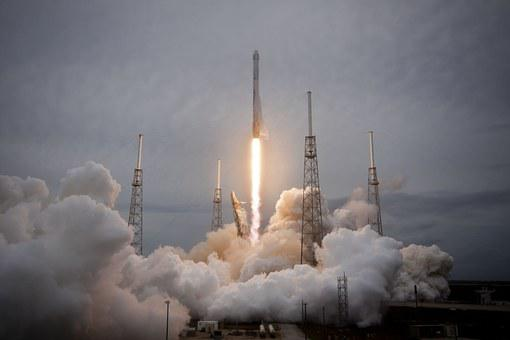 Rocket Launch, Spacex, Lift-Off, Launch