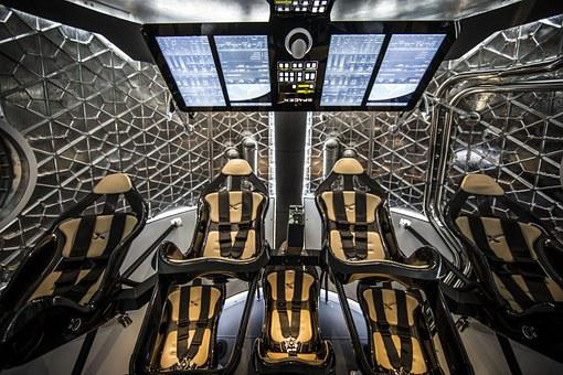 Spacecraft, Cockpit, Seats, Astronautics