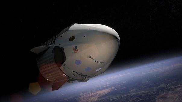 Spacex, Spaceship, Satellite, Orbit
