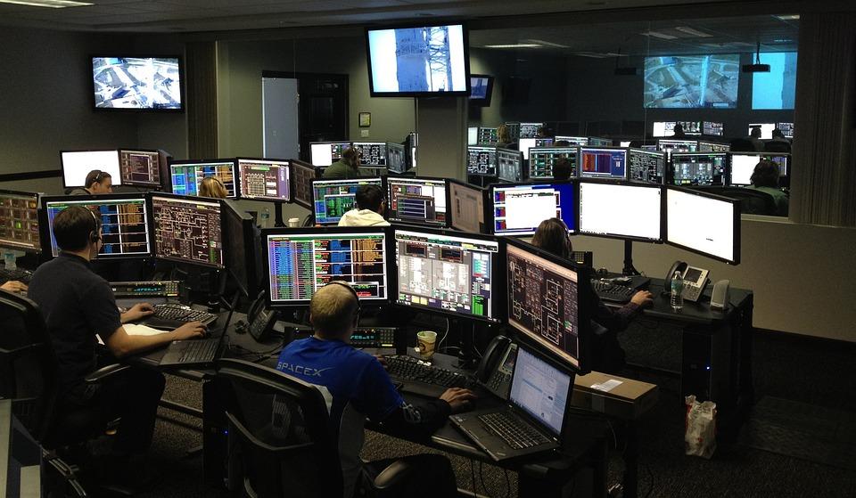 Centro Espacial, Spacex, Centro De Controle