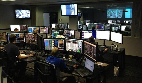 Space Center, Spacex, Control Center