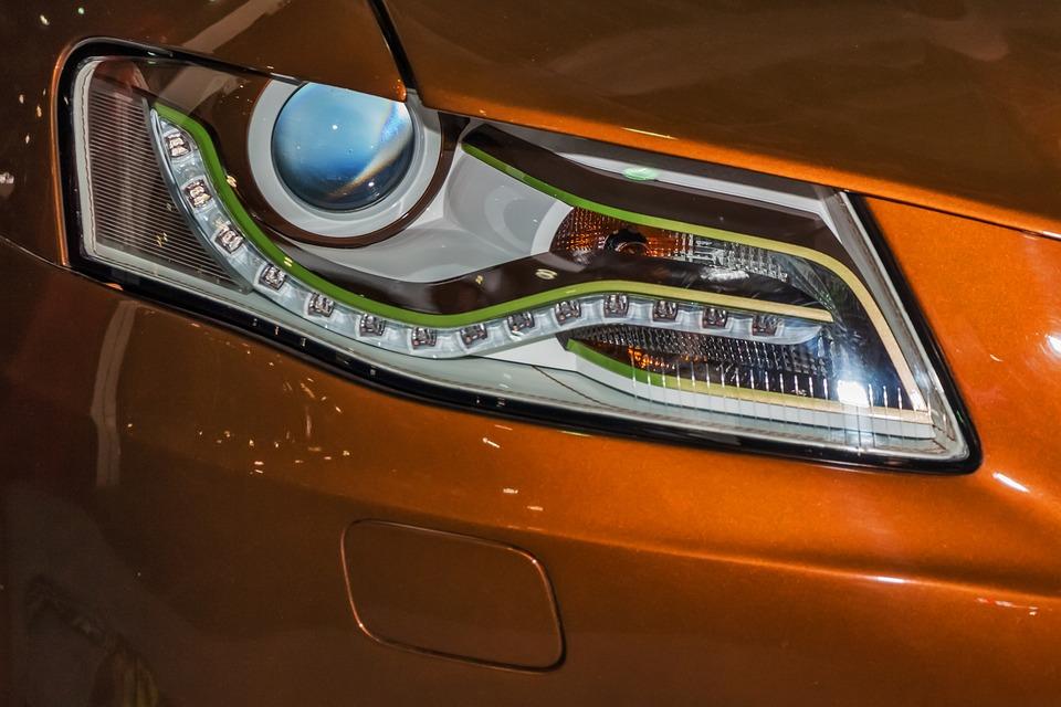 Superior Car Lamp Headlight Bright Eye Modern Audi