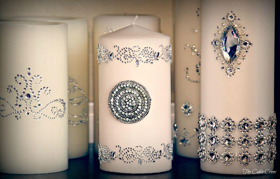 Baptism Candles | Christening Candles | Spiritual Candles | In Memory of Candles | Sydney