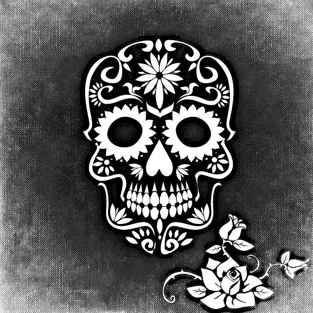 kostenlose illustration totenkopf rose hintergrund kostenloses bild auf pixabay 693476. Black Bedroom Furniture Sets. Home Design Ideas