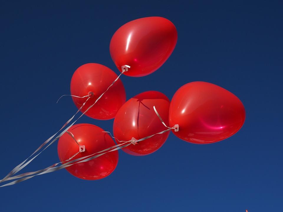 Spiksplinternieuw Balloons Heart Love - Free photo on Pixabay LR-61