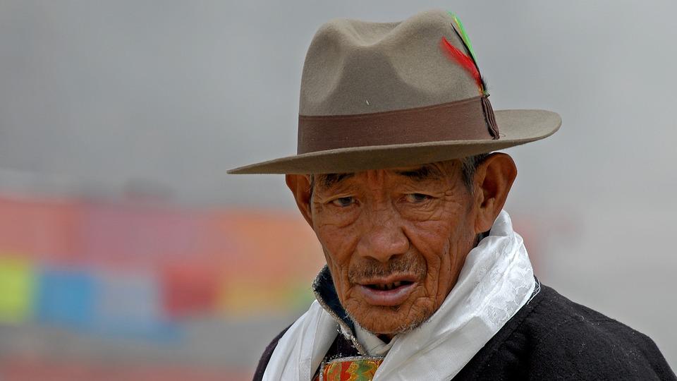 Tibet Hat Man - Free photo on Pixabay eb835cf6ccde