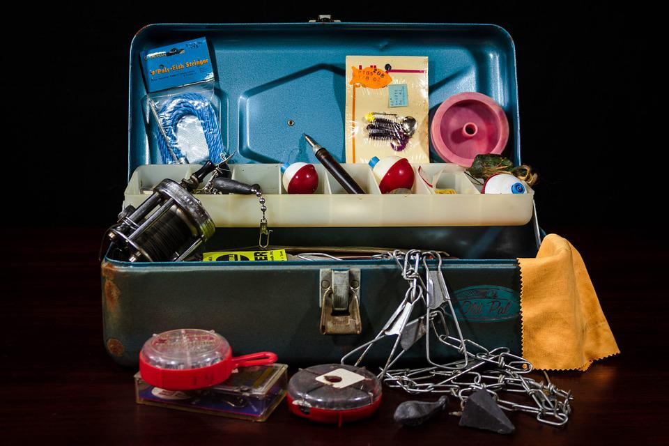 Free photo tackle box fishing supplies free image on for Fishing supply stores