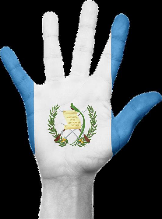Guatemala Flag Hand Free Image On Pixabay