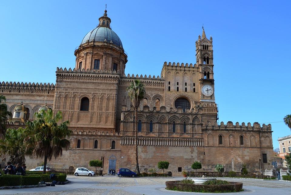 Palermo, Sicilia, Catedral, Iglesia