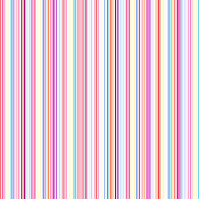 Papel Decorativo De Rayas De Colores