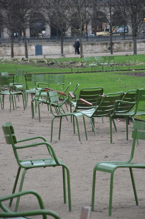 Chaises Jardin DHiver Luxembourg Paris