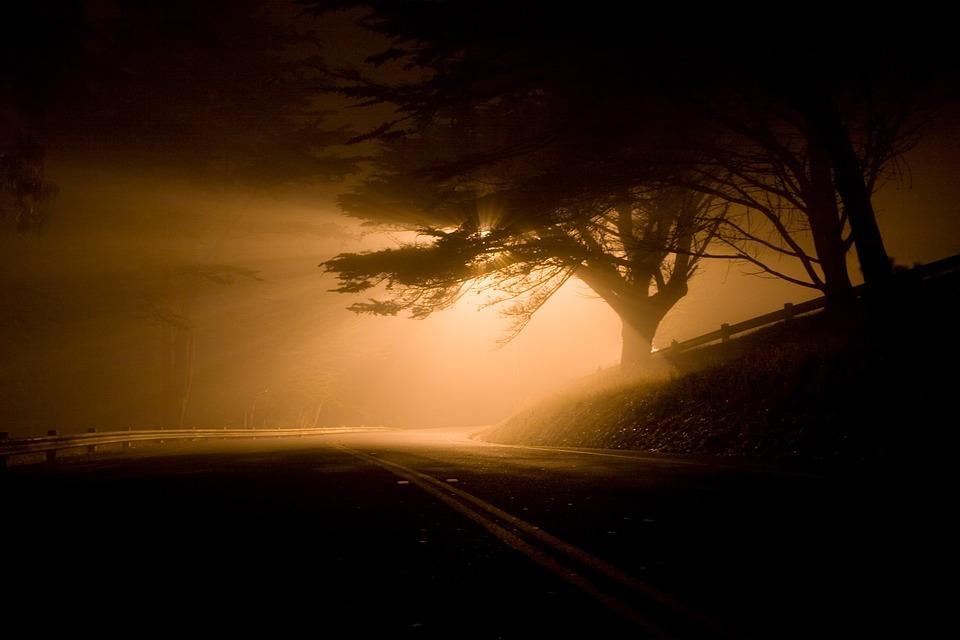 Free Photo Landscape Night Road Free Image On Pixabay
