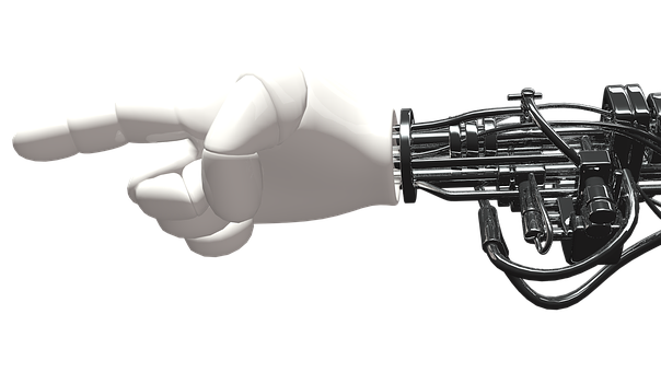 Hand, Robot, Machine
