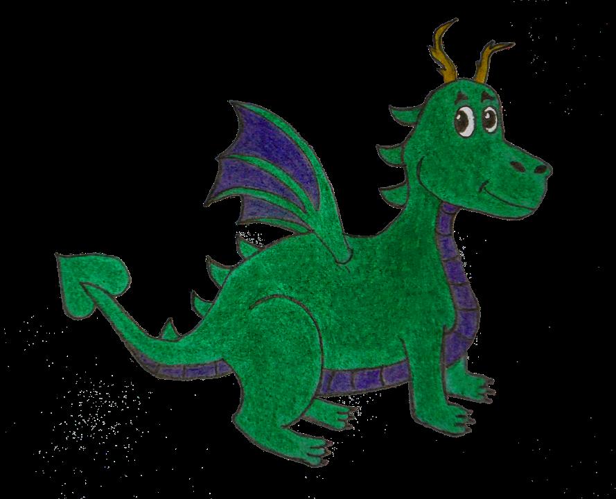 Dragon Verde Azul Foto Gratis En Pixabay