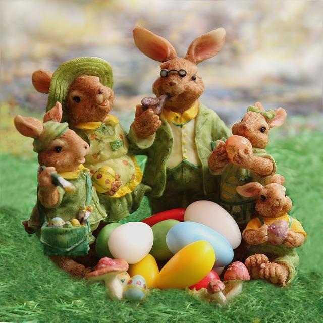 Easter Bunny Family · Free Photo On Pixabay