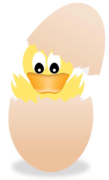 Paskalya Yumurta Civciv Pixabayde ücretsiz Resim