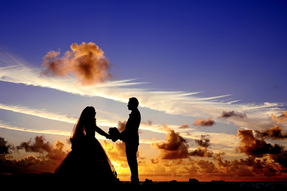 Maldives, Sunset, Wedding, Bride, Tropical, Island