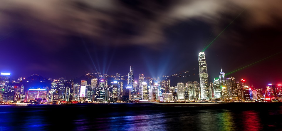Free Photo Hong Kong Skyline Buildings Free Image On