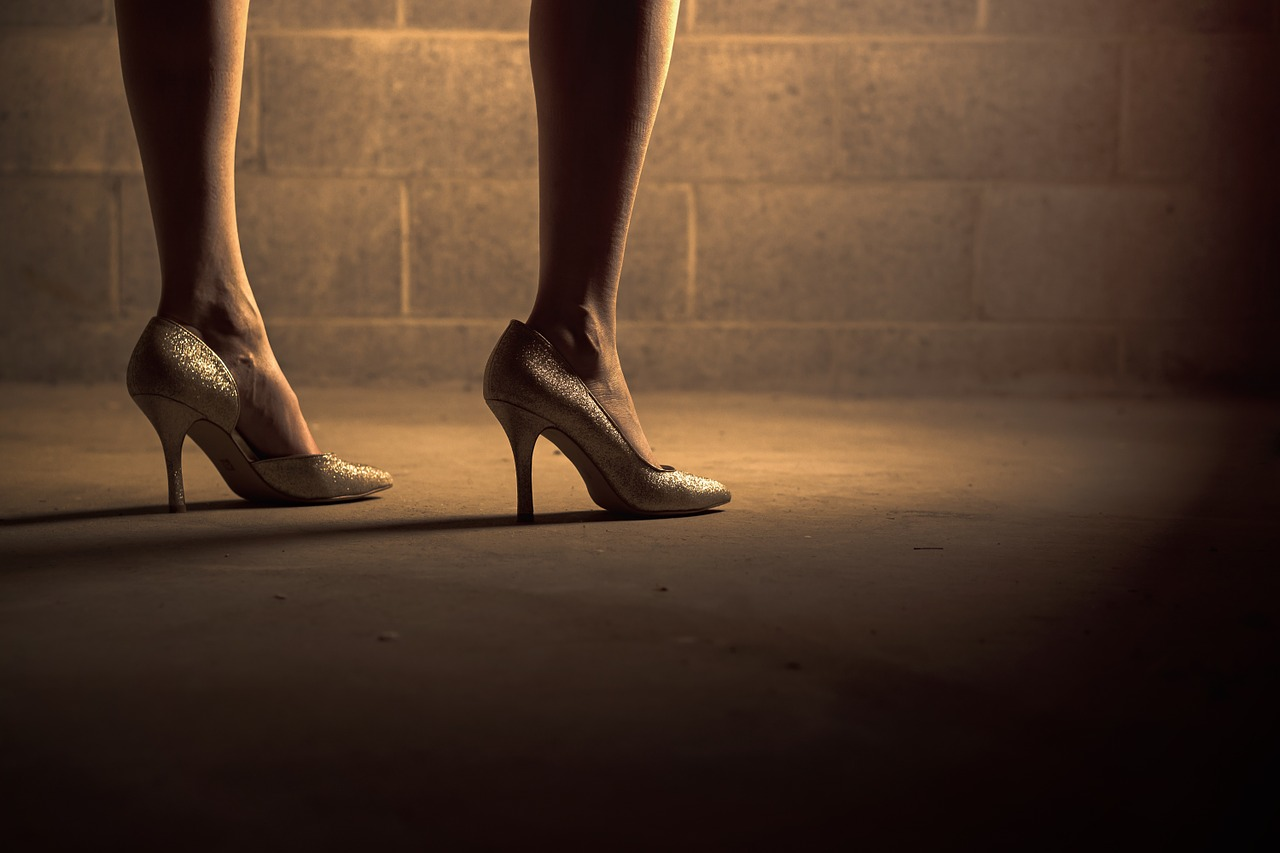 understanding the feminists idea behind the high heel shoes