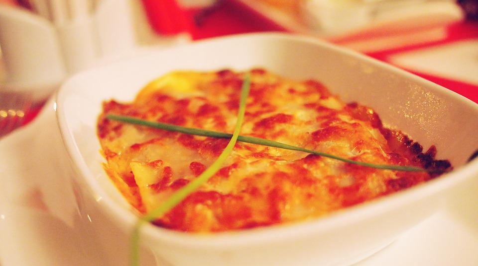 Lasagna, Food, Dinner, Lunch, Restaurant