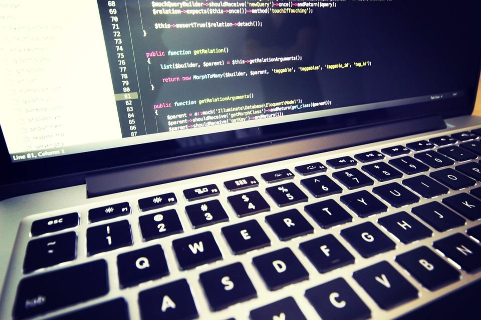 coding macbook laptop free photo on pixabay
