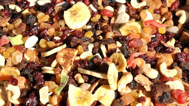 Dried Fruit, Mixed, Food, Dried Fruit