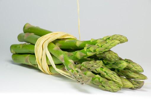 Asparagus Green Bundle Vegetable Food Fres